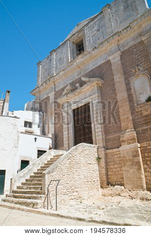 Church of St. Domenico. Ceglie Messapica. Puglia. Italy.