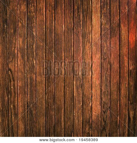 Old timber wall background poster