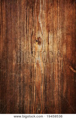 Weathered timber wall