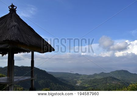 A Hut And Its Magnificent View