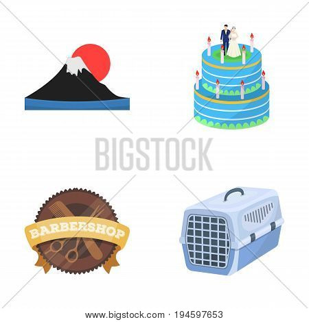 business, Nature, ecology and other  icon in cartoon style.suitcase, grill, breathing, icons in set collection