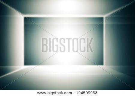 Grey Gradient Box