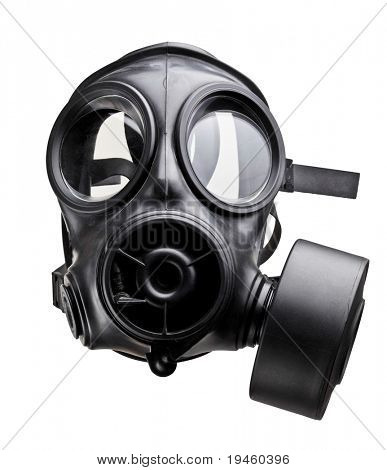 fine image of classic british army gas mask