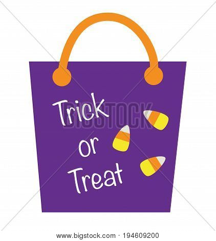 Festive Happy Halloween Holiday Goodie Treat Bag