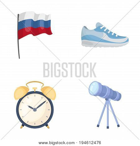 business, tourism, travel and other  icon in cartoon style. sky, zoom, study, icons in set collection.