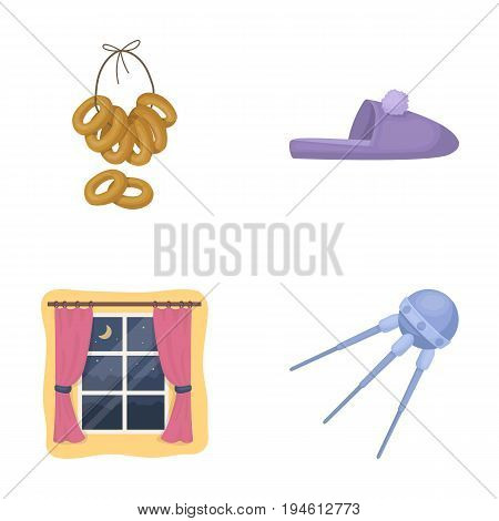 cooking, trade, textiles and other  icon in cartoon style., universe, carrier, business, icons in set collection.