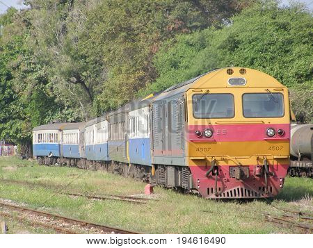 Hitachi Diesel Locomotive No 4507
