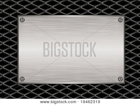 Diamond Grill Plaque
