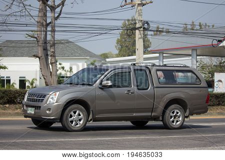 Private Isuzu Dmax Pickup Truck.