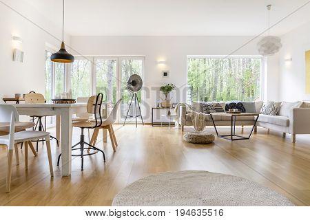 Spacious White Room