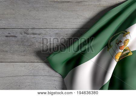 Andalucia Flag Waving