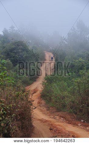 Mountain Scenery In Dalat, Vietnam