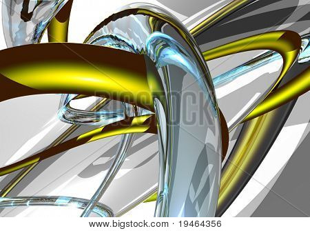 colored wires (abstract)