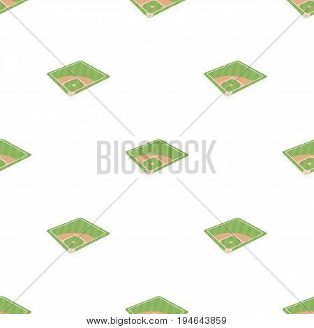 Baseball court. Baseball single icon in cartoon style vector symbol stock illustration .