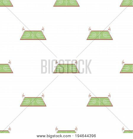 Basketball court.Basketball pattern icon in cartoon style vector symbol stock illustration .