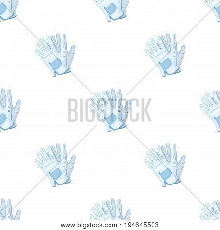 Golf gloves.Golf club single icon in cartoon style vector symbol stock illustration .