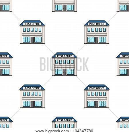 Post office.Mail and postman pattern icon in cartoon style vector symbol stock illustration .