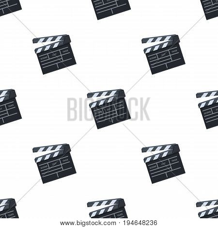 Movie cracker.Making movie single icon in cartoon style vector symbol stock illustration .