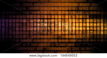 Digital Security and Network Firewall Surveillance Concept