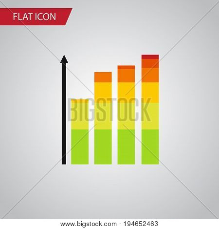 Isolated Infographic Flat Icon. Statistic Vector Element Can Be Used For Infographic, Statistic, Chart Design Concept.