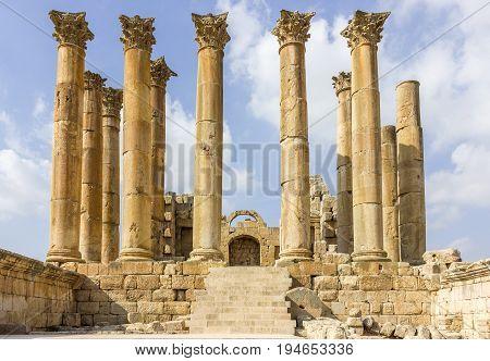 Ancient Roman city of Gerasa modern Jerash, Jordan