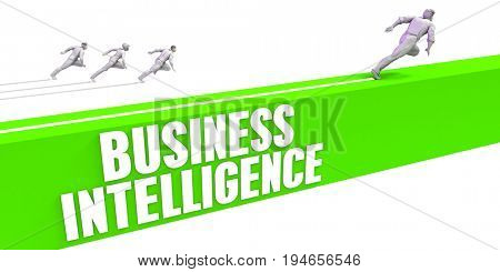 Business Intelligence as a Fast Track To Success 3D Render