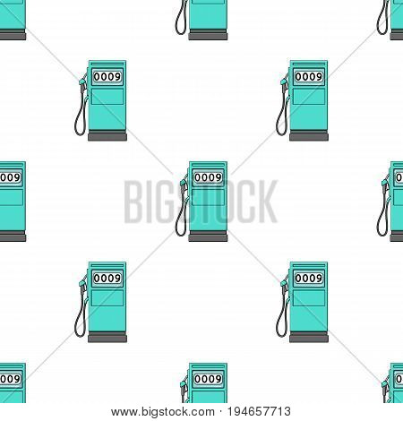 Petrol filling station.Oil single icon in cartoon style vector symbol stock illustration .
