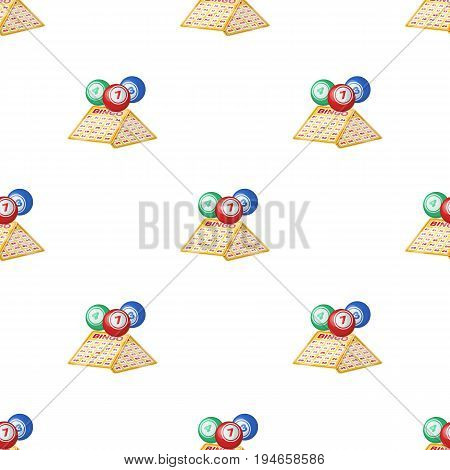 Lottery.Old age single icon in cartoon style vector symbol stock illustration .