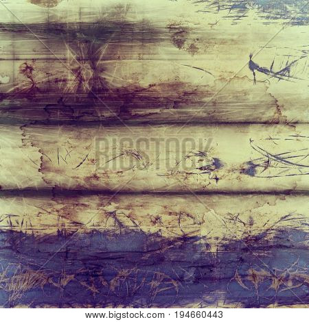 Grunge antique frame, vintage style background. With different color patterns: yellow (beige); purple (violet); brown; gray; blue