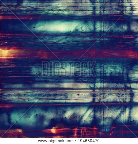Retro background, antique texture for abstract vintage design composition. With different color patterns: yellow (beige); blue; red (orange); purple (violet); cyan; pink