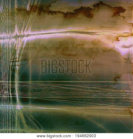 Designed grunge texture or retro background. With different color patterns: yellow (beige); pink; green; brown; gray; blue