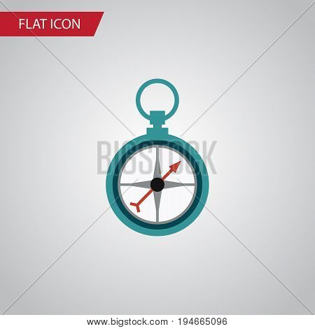 Isolated Navigation Flat Icon. Measurement Dividers Vector Element Can Be Used For Measurement, Dividers, Navigation Design Concept.