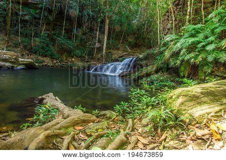 Abade Waterfall in Pirenopolis City Goias Brazil