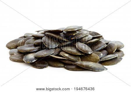 Heap Of Hulled Pumpkin Seeds
