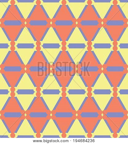 Abstract seamless geometric pattern. Ethnic tribal motifs.