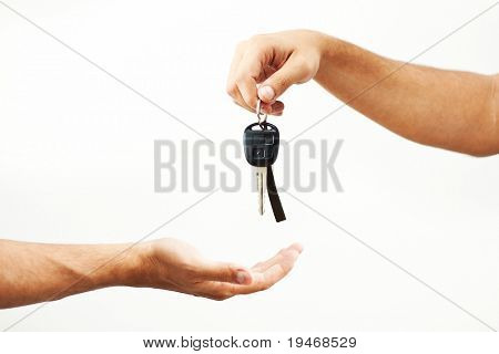 Car-key exchange