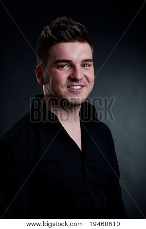 Good Looking Modern Young Man