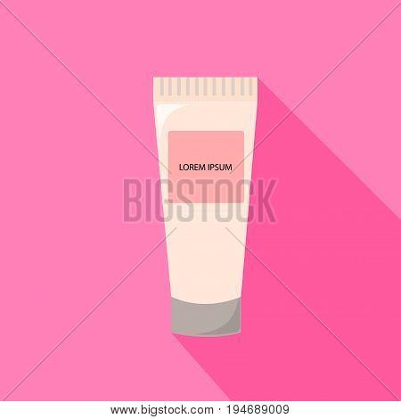 Tube Of Cream from beauty salon vector
