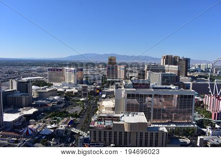 Las Vegas, Nevada - Usa - June 05,2017 - City View Las Vegas