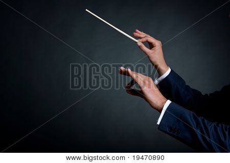 Male Orchestra Conductor