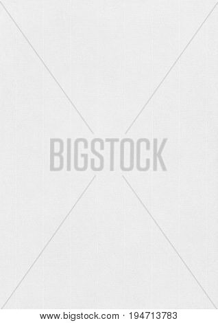 Laid White Paper Corrugated Texture Background.