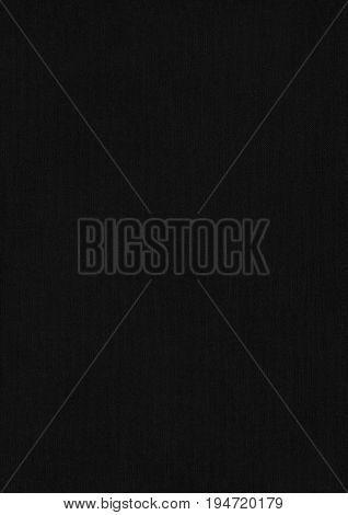 Buckram Black Paper Corrugated Texture Background.