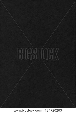 Dapple Black Paper Corrugated Texture Background.