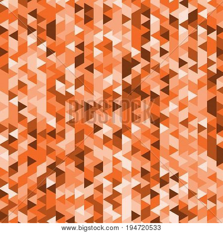 Abstract background with geometry orange backdrop, stock vector