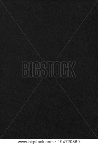 Stucco Black Paper Corrugated Texture Background.