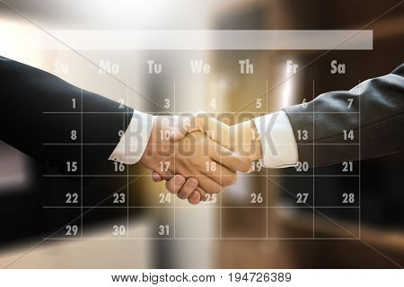 Appointment Reminder To Calendar And Organizer Agenda