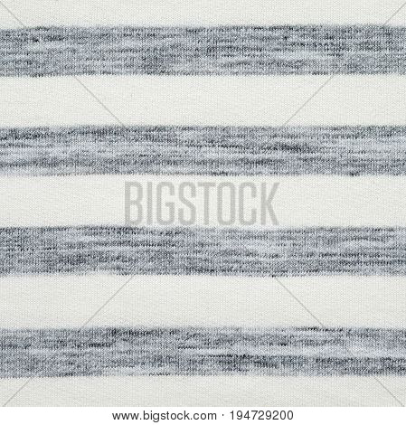 Gray and white striped pattern cotton polyester fabric texture background textile fashion backdrop wallpaper