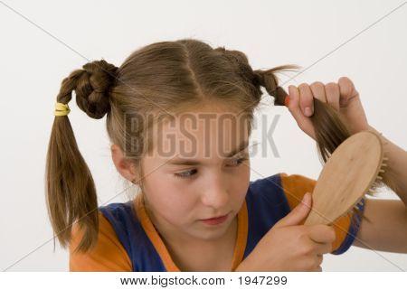 Brushing The Hair Gir