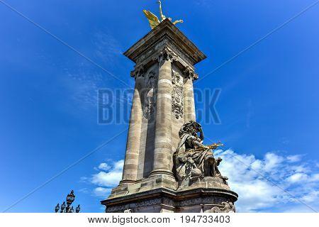 Alexander Iii Bridge - Paris, France