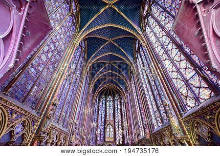Sainte-chapelle - Paris, France